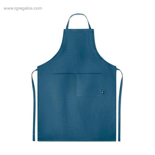 Delantal-cocina-de-cáñamo-azul-RG-regalos-de-empresa