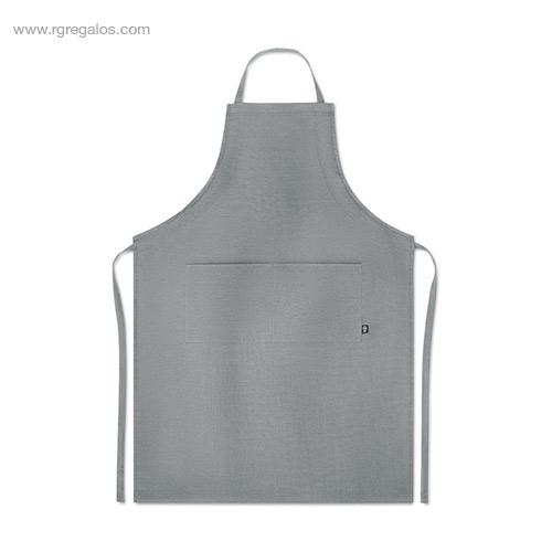 Delantal-cocina-de-cáñamo-gris-RG-regalos-de-empresa