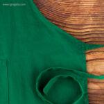 Delantal largo de algodón detalle- RG regalos publicitarios