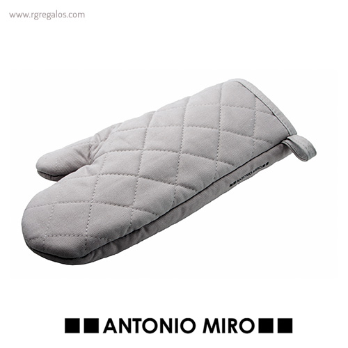 Guante para horno Antonio Miró gris - RG regalos publicitarios