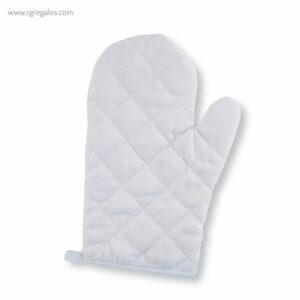 Guantes para horno en algodón blanco - RG regalos publicitarios