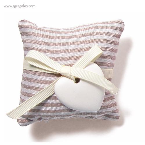 Saco aromático gris - RG regalos publicitarios