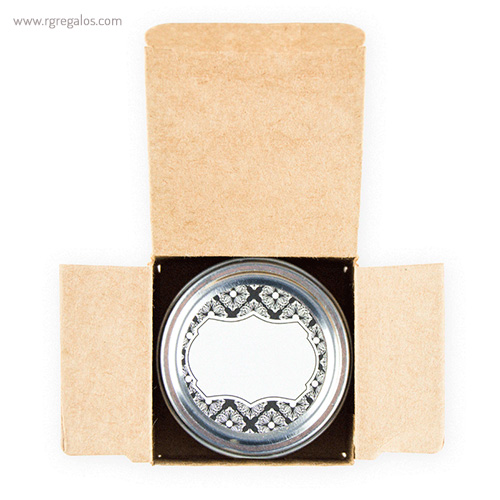 Vela aromática packaging - RG regalos publicitarios