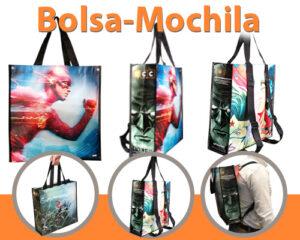 bolsa mochila 100% personalizada - RG regalos publicitarios