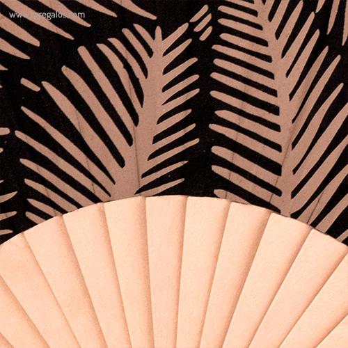 Abanico-tela-diseño-hojas-detalle-RG-regalos-publicitarios