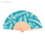 Abanico-tela-diseño-turquesa-RG-regalos