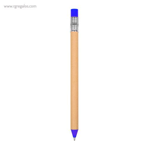Bolígrafo-en-papel-y-cartón-azul-RG-regalos-publicitarios