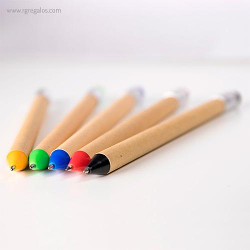 Bolígrafo-en-papel-y-cartón-detalle-RG-regalos-publicitarios