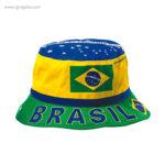 Gorro bandera países Brasil - RG regalos publicitarios