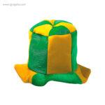 Gorro fiesta bandera países Brasil - RG regalos publicitarios