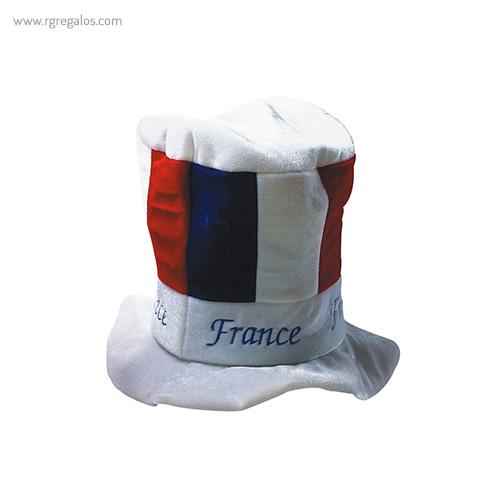 Gorro fiesta bandera países Francia - RG regalos publicitarios
