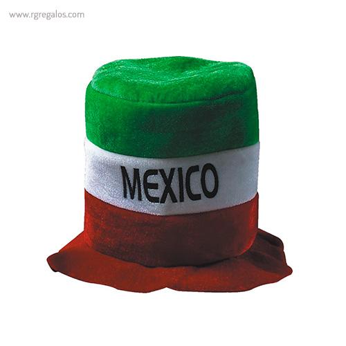 Gorro fiesta bandera países Mexico - RG regalos publicitarios