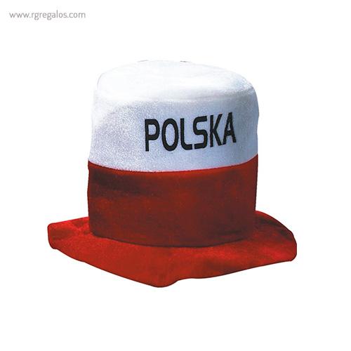 Gorro fiesta bandera países Polonia - RG regalos publicitarios