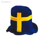 Gorro fiesta bandera países Suecia - RG regalos publicitarios