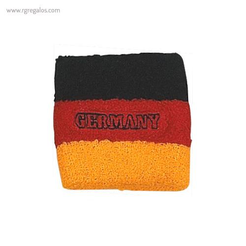 Muñequera bandera países Alemania - RG regalos publicitarios