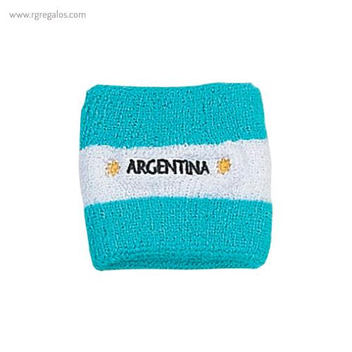 Muñequera bandera países Argentina - RG regalos publicitarios