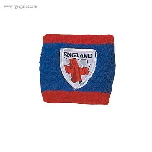 Muñequera bandera países Inglaterra escudo - RG regalos publicitarios