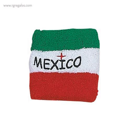 Muñequera bandera países Mexico - RG regalos publicitarios