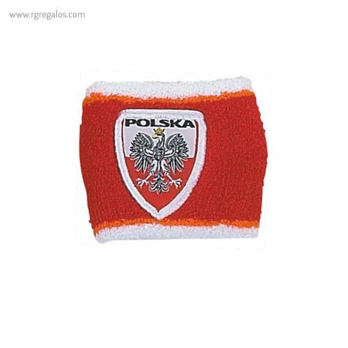 Muñequera bandera países Polonia - RG regalos publicitarios