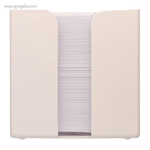 Taco de notas con cubo 800 hojas - RG regalos publicitarios
