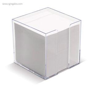 Taco de notas con cubo sencillo detalle - RG regalos publicitarios