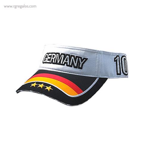 Visera bandera países Alemania- RG regalos publicitarios