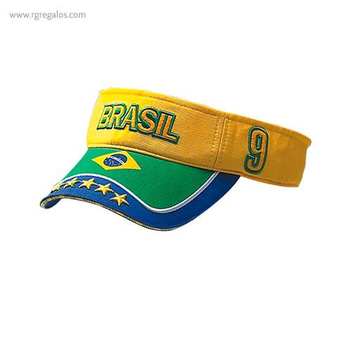 Visera bandera países Brasil - RG regalos publicitarios