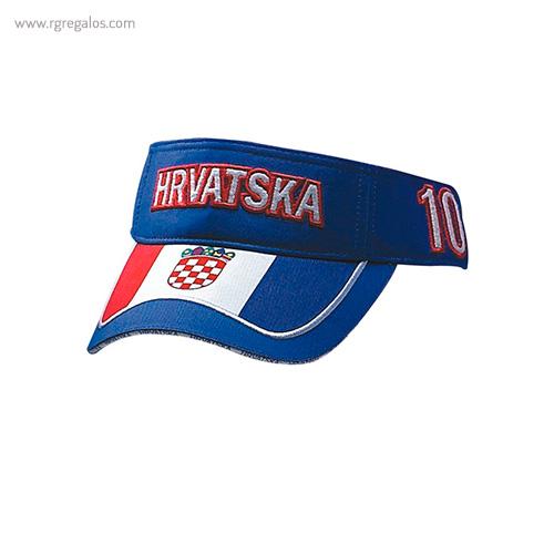 Visera bandera países Hrvatska- RG regalos publicitarios