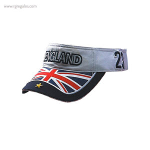 Visera bandera países Inglaterra- RG regalos publicitarios