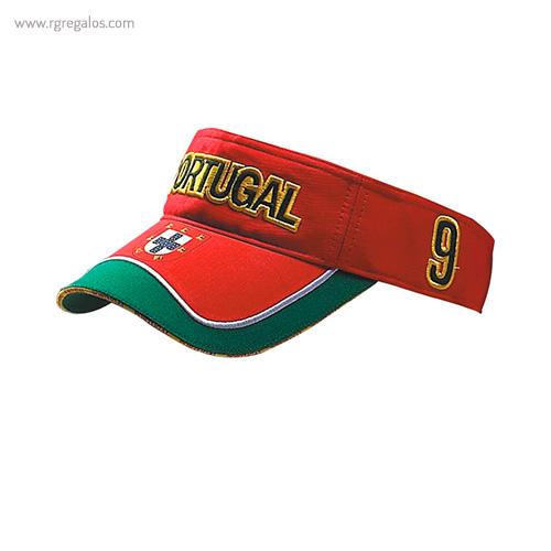 Visera bandera países Portugal - RG regalos publicitarios