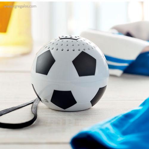 Altavoz en forma de balón detalle - RG regalos publicitarios