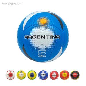 Balón de fútbol colores países - RG regalos publicitarios