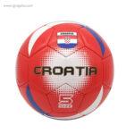 Balón de fútbol con bandera Croacia - RG regalos publicitarios