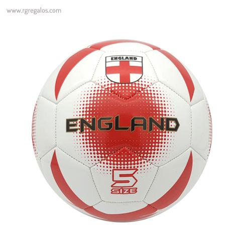 Balón de fútbol con bandera Inglaterra - RG regalos publicitarios