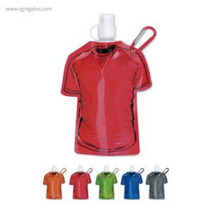 Botellín forma camiseta - RG regalos publicitarios