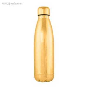 Botella acero inoxidable brillante oro - RG regalos promocionales