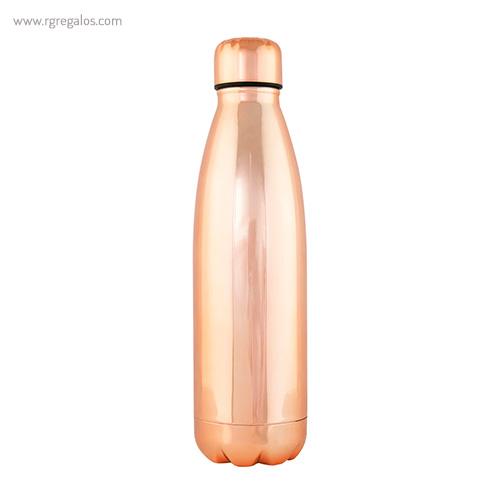 Botella acero inoxidable brillante rosa - RG regalos promocionales