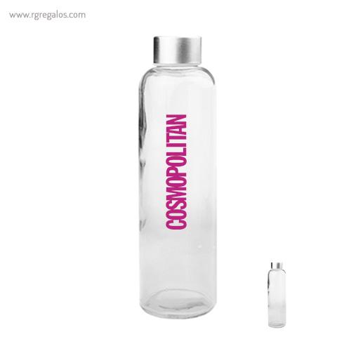 Botella con tapón metálico - RG regalos publicitarios