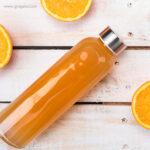 Botella con tapón metálico zumo - RG regalos publicitarios