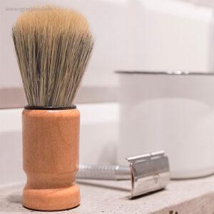Brocha afeitado estilo vintage imagen - RG regalos publicitarios