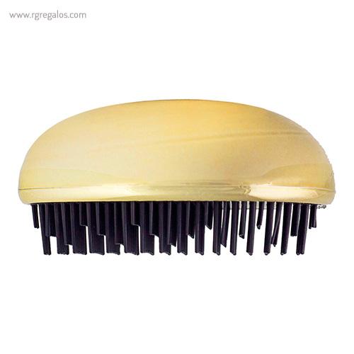 Cepillo pelo forma de gota dorado - RG regalos publicitarios
