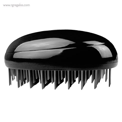 Cepillo pelo forma de gota negro - RG regalos publicitarios