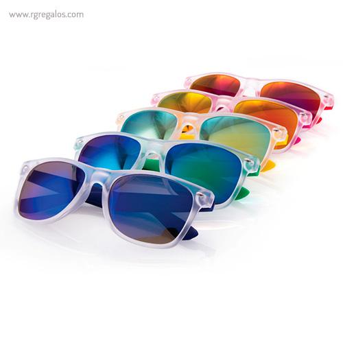 Gafas de sol diseño circular Unisex. Protección UV400
