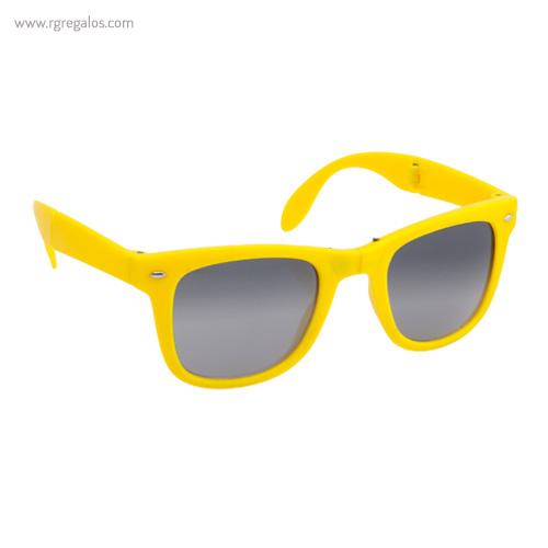 Gafas de sol plegables amarillas - RG regalos publicitarios