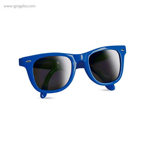 Gafas de sol plegables azules - RG regalos publicitarios