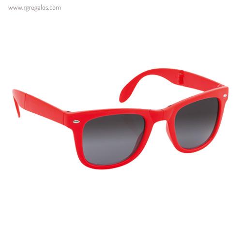 Gafas de sol plegables rojas - RG regalos publicitarios