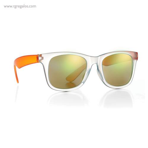 Gafas de sol lentes espejo naranja 1 - RG regalos publicitarios