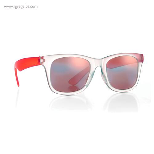 Gafas sol lentes de espejo rojo 1 - RG regalos publicitarios