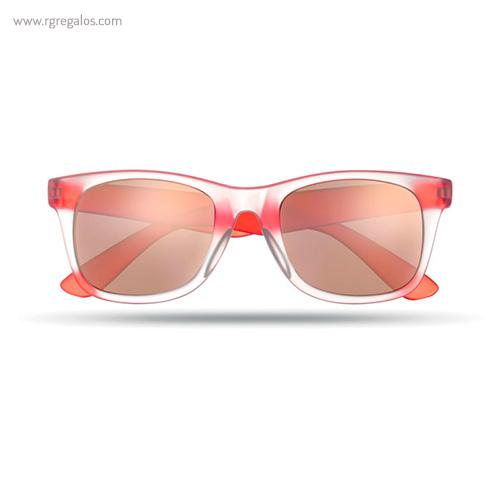 Gafas de sol lentes espejo rojo - RG regalos publicitarios