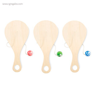 Mini pala de madera con bola - RG regalos publicitarios